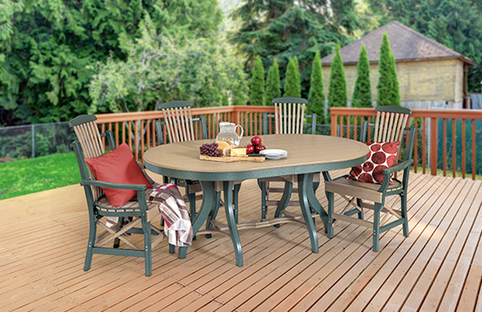 Patio Table - Oval 44 X 68