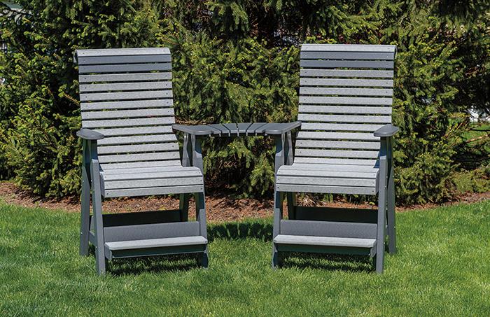 Pub Chair Slide -on Settee