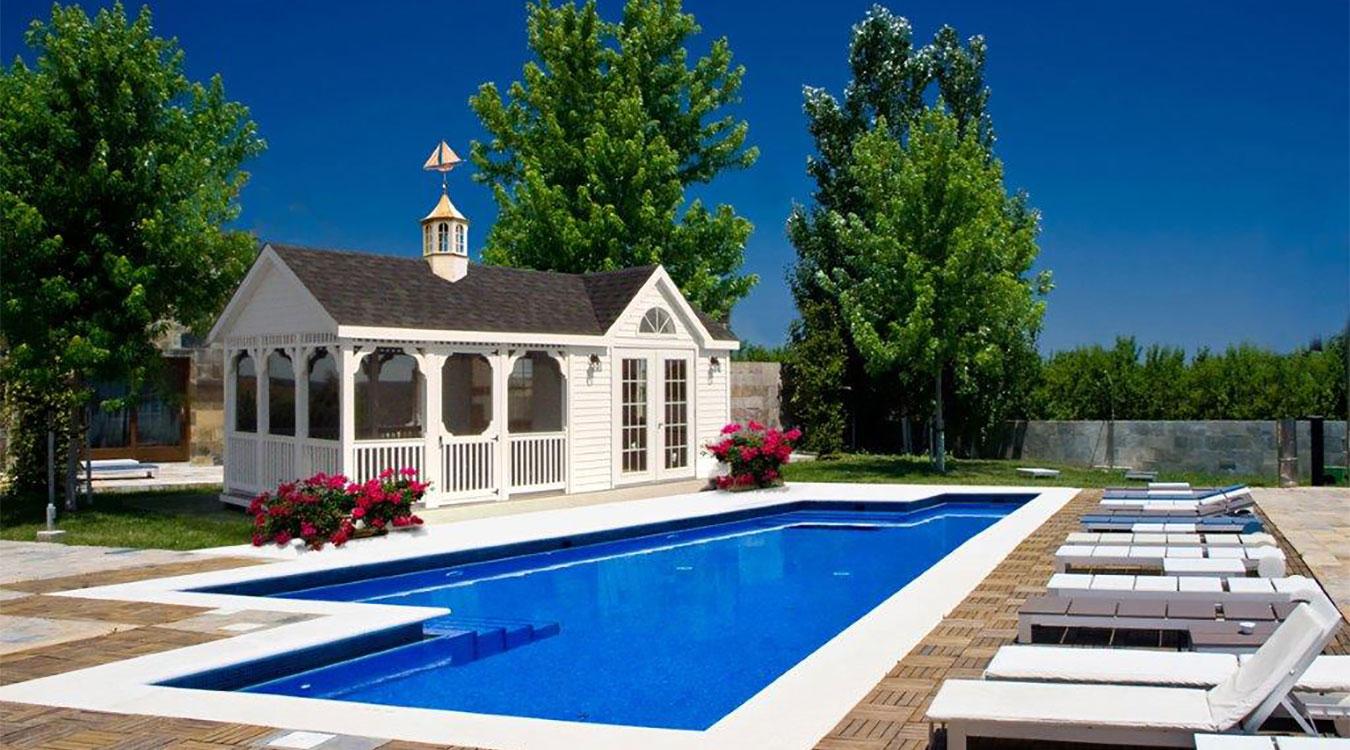 Vinyl Pool Houses 1